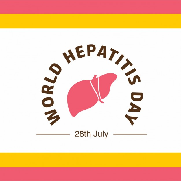World Hepatitis Day Background With Stripes 1057 1340 2