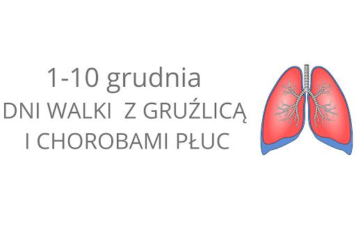 1-10 grudnia – Dni Walki zGruźlicą iChorobami Płuc