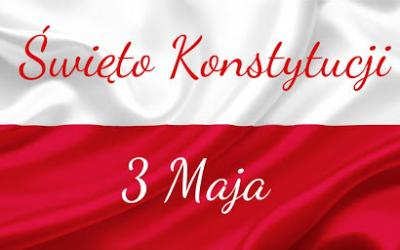 Święto Konstytucji  3 Maja 1791 roku